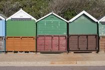 Beach Huts by Karolis Civinskas