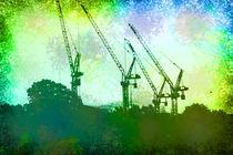 Cranes by Nikos Gazetas