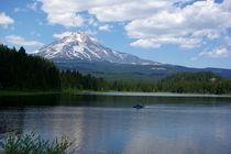 Trillium Lake by David Fouch