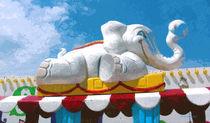 Elephant Train by © CK Caldwell