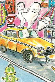 The Haunted Taxi by Dena Bushnaq