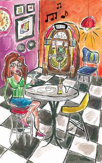 Melancholy Jukebox by Dena Bushnaq