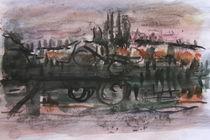 Waterscape of Dead-Tisza von Janos Szaszki