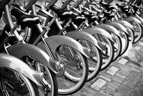 Paris Bikes by Philip Cozzolino