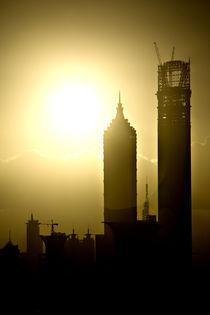 Morning Light over Shanghai by Jan-Patrick Schmitz