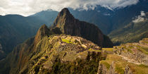 Machu Picchu Sunset von Benjamin Niven