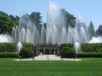 Main Fountain Show at Longwood by Jeffrey Batt