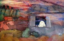 woman in the window von ayelet sharon