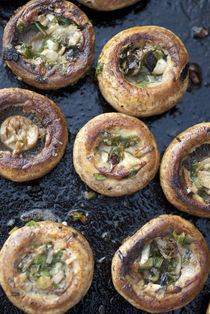 grilled,mushrooms von Kris Shopov
