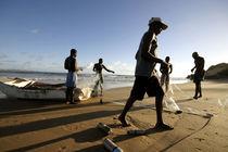 fishermen in Mozambique by Wiebke Wilting