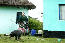 Traditional African woman von Wiebke Wilting