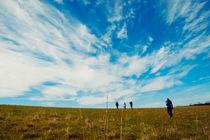 Crossing fields by Dahlia Foo