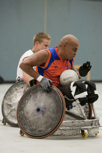 wheelchair rugby, quad rugby von Wiebke Wilting