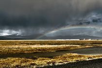 Rainbow in Iceland by Simeon Jones