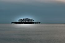 The old pier, Brighton von Simeon Jones