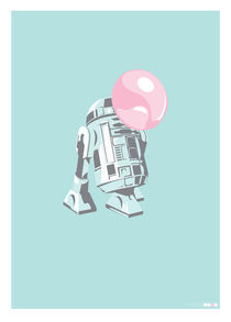 R2D2 Bubblegum von Kate Slavin