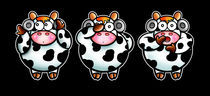 three cows von Laura Marchesini