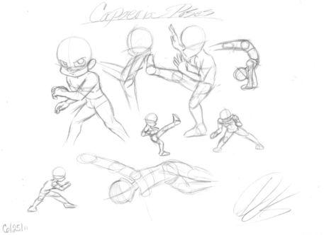 Capoeira-sketches