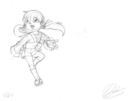 Random-character-chinese-girl