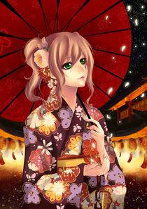 Kimono Girl Hanabi by eternal-s
