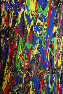 Colorful Frenzy by Dennis Faherty