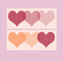 pink hearts by thomasdesign