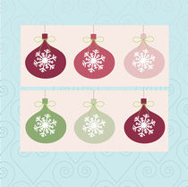 christmas ball decorations  von thomasdesign