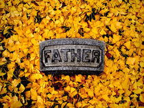 Father in Autumn Leaves by John Thomas Grant