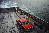 The Red Car by Burçin Esin