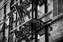 New York City Fire Escape 3 von Darren Martin