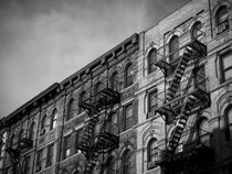 New York City Fire Escape 2 by Darren Martin