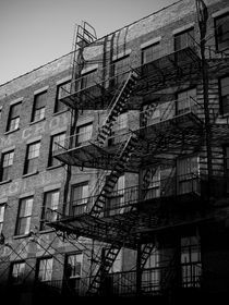 New York City Fire Escape 1 by Darren Martin