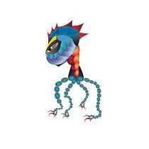 Weird Creature von Daria Zazirei