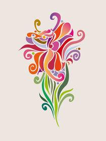 Magical Flower von Daria Zazirei