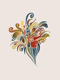Magical Flowers von Daria Zazirei