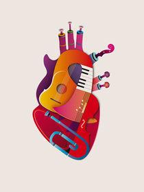 Musical Heart by Daria Zazirei
