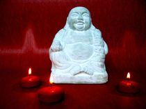 Happy Buddha von Maria-Anna  Ziehr