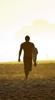 Rio Surfer by Reinaldo Smoleanschi