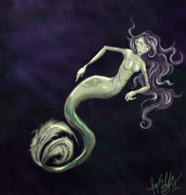 Mermaid Lurking by imp168