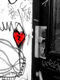 Where is the key to this heart? by Karina Stinson
