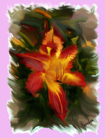 Flaming Lily by Fanchon Fryer