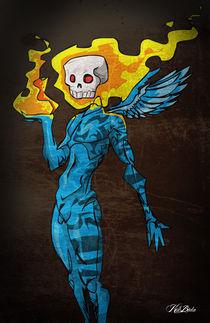 Skull Angel. by kidbuda