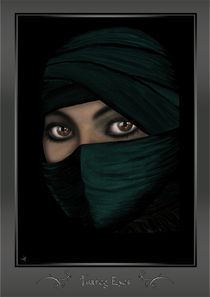 Tuareg Eyes (framed) by Sven K.