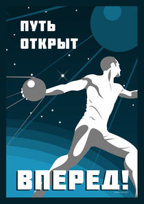Sputnik: go on! von Anna Khlystova