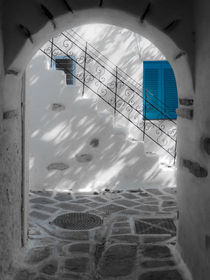 Impression aus Mykonos von Jürgen Klust
