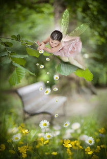 Faery in the garden  by mira-arnaudova
