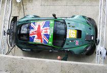 Aston Martin DBR9 at Le Mans by designandrender