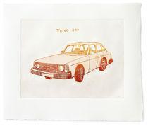 Volvo 240 red by dotbydot