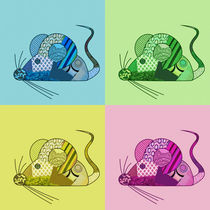 Colored Mice von Claudia Pflicke