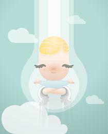 balancing angel by jose Manuel del Solar
